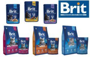 Корм Brit для кошек